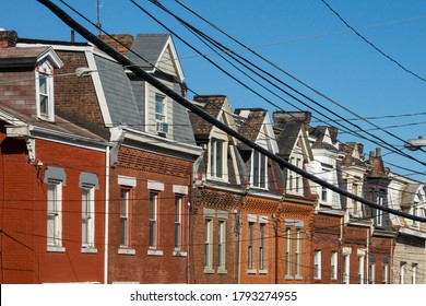 Detail of Architecture in Lawrenceville Neighborhood of Pittsburgh