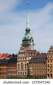A detail of beautiful city of Stockholm, Sweden