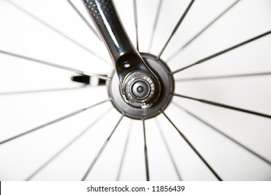 Detail of a bike