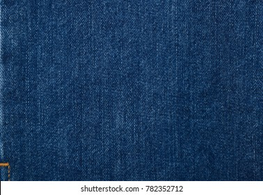 Detail of Blue Jeans denim texture.