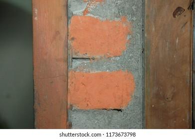 detail brick texture