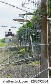 Detail of Buchenwald Concentration Camp near Weimar