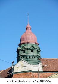 Detail of the building, Timisoara, Romania