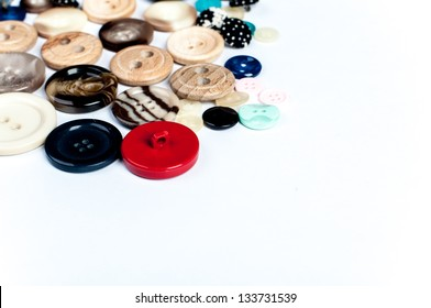 detail of buttons