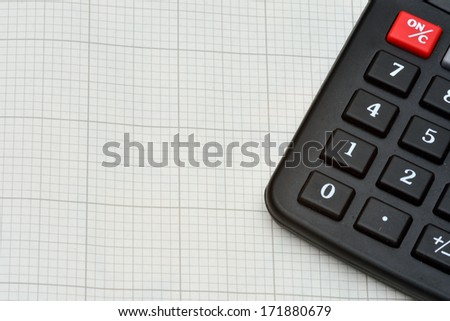Detail Calculator Graph Paper Stock Photo Edit Now 171880679