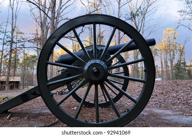 Detail of cannon wheel