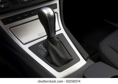 detail of a car gear