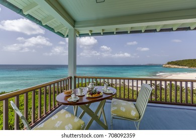 Detail from Caribbean Home, interior design, from Anguilla
