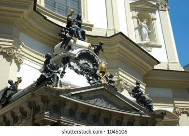 Detail - Church of Saint Peter, Vienna - Austria