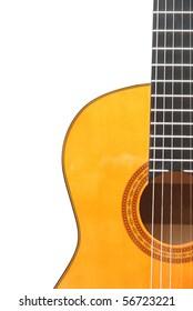 Detail of classic (spanish) guitar