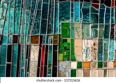 Detail of a colorful window. Good image to be used as background