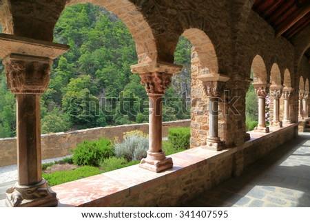 Detail Columns Arches Decorating Cloister St Stock Photo (Edit Now ...