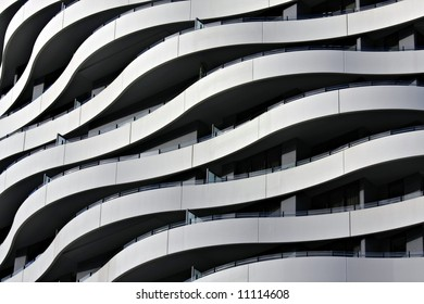 Detail of Cool Apartment Building