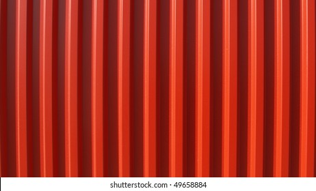 Detail of corrugated steel useful as a background - (16:9 ratio)