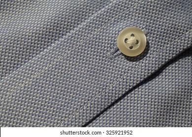 Detail of cotton shirt close up.
