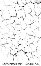 detail of cracked background