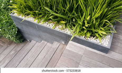 The detail design for interior or landscape. Wooden mix with little planting and you can choose Indoor plants or Outdoor Plants for your work.