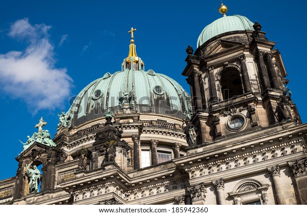 Detail of the dom in Berlin