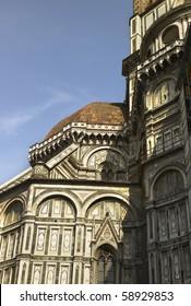 Detail of Duomo Firenze