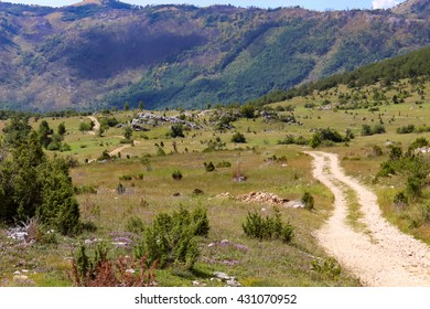 Detail from Durmitor mountain in Montengro