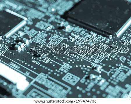 detail electronic printed circuit board cool stock photo edit now rh shutterstock com Capacitor Circuit Circuit City