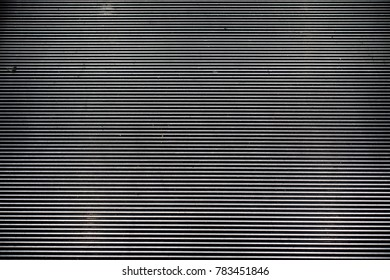 Detail of escalator abstract texture background