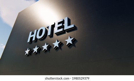 Detail of a five stars hotel