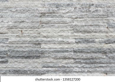 Detail of grey stone wall texture