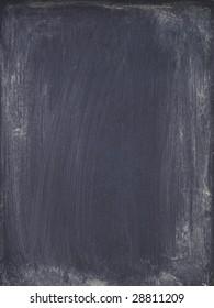 detail of grungy chalkboard