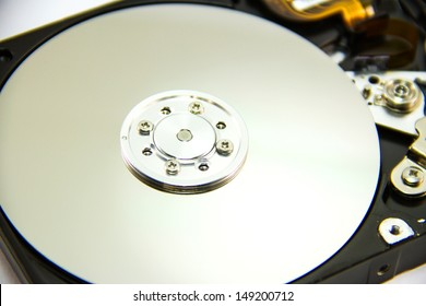 Detail of hard drive