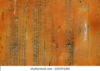Detail of a hard wooden board