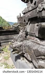 Detail from a Hindu Temple at Trunyan Village, Bali