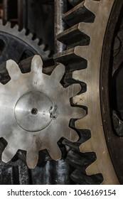 Detail of Iron Cogwheels