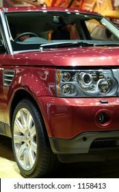 Detail of luxury SUV