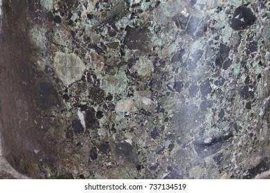 Detail of marble slabs  in Istanbul, Turkey
