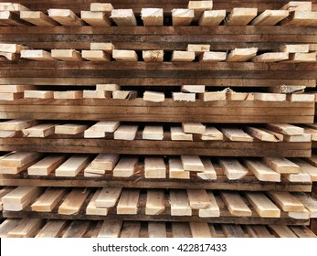 Detail of material of wood pallet