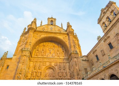 Detail of the medieval Salamanca cathedral