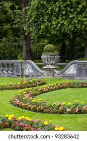 Detail from Mirabel garden in Salzburg city