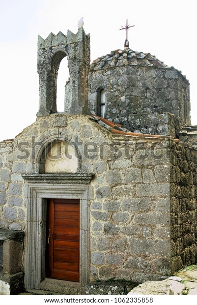 Detail from the monastery of St. John the Theologian on Patmos island, Greece.