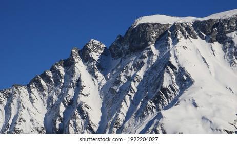 Detail of Mount Surenstock. View from Elm.
