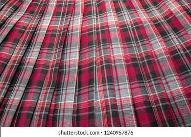 Plaid Skirt Images Stock Photos Vectors Shutterstock