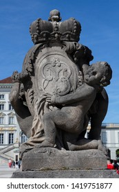 Detail from Nymphenburg castle in Munich