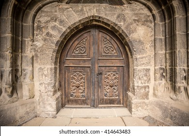 Detail of an old church or castle door & Castle Door Images Stock Photos \u0026 Vectors | Shutterstock