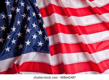detail of old glory american flag