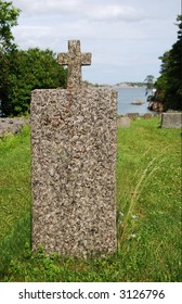 Detail from an old graveyard at the south coast of norway.