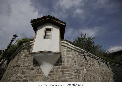 Detail of old Plovdiv, Bulgaria