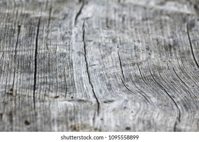 Detail of an old wooden board