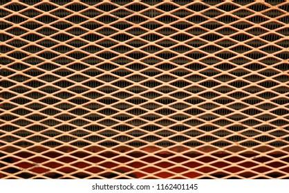 detail orange steel texture