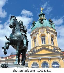 Detail palace Charlottenburg Berlin, Germany