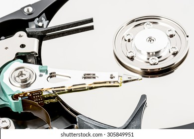 Detail parts of a hard disk
